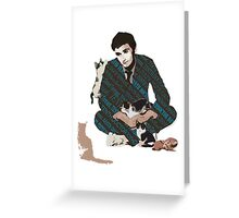 The Doctor and the Attack of Kittens Greeting Card
