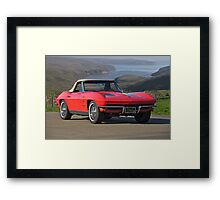 1963 Chevrolet Corvette Framed Print