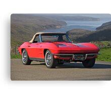 1963 Chevrolet Corvette Canvas Print