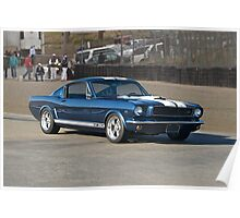 1965 Ford Mustang GT350 Poster