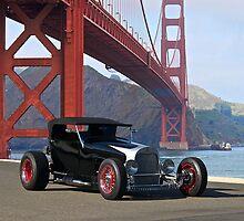 1927 Ford Model T Lakester by DaveKoontz