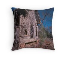 Rural Ruins Throw Pillow