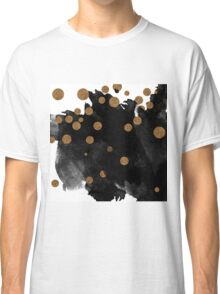 Smudge - Black and Gold Classic T-Shirt