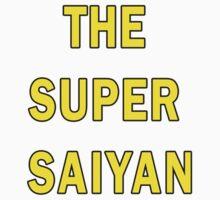 The Super Saiyan Kids Clothes