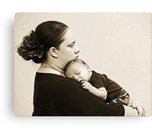Madre y Nino Canvas Print