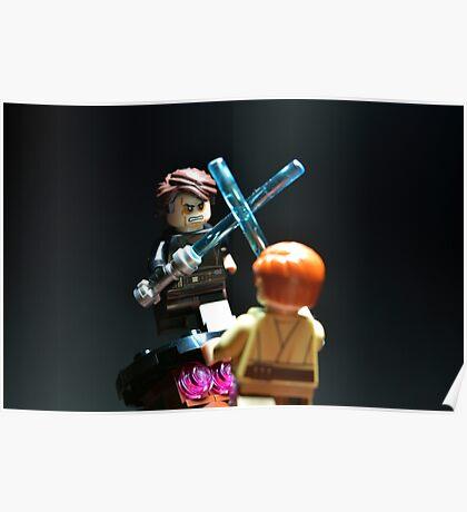 Jedi Duel Poster