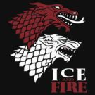 Targaryen Stark - Ice & Fire by DCVisualArts