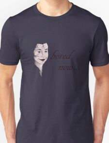 bored now... Unisex T-Shirt