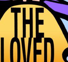 The Loved Ones original drumskin design 1965 Sticker