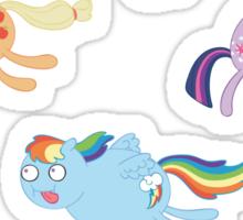 Poobrain Teenies! Sticker