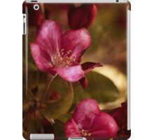 potential - velvety crababble blossoms iPad Case/Skin