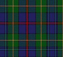10017 The House of Bailey Clan/Family Tartan Fabric Print Ipad Case by Detnecs2013