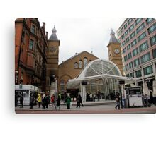 Liverpool street Station Canvas Print