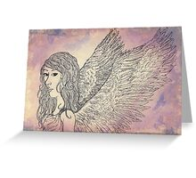 The Picture of Innocence Greeting Card