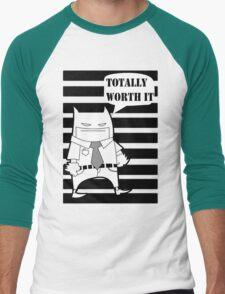 Gotham City Impostor BAT Men's Baseball ¾ T-Shirt