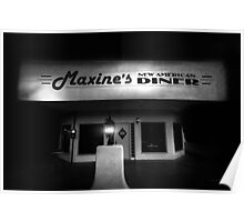 Maxines Diner Poster