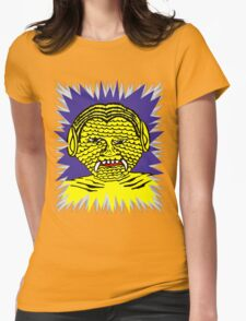 Butter Face Womens Fitted T-Shirt