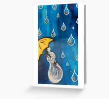 Liquid Sunshine Greeting Card