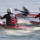 Canoe Polo by barrach