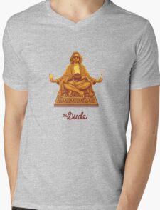 The Dude Mens V-Neck T-Shirt