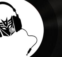 Dj Decepticon vinyl Sticker