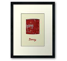 Donny Framed Print