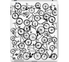 Pile of Black Bicycles iPad Case/Skin