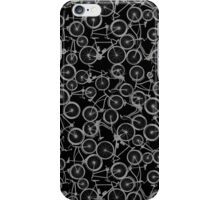 Pile of Grey Bicycles iPhone Case/Skin