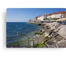 A Day On the Slovenian Coast Canvas Print