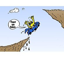 Tout Va Bien Webcomic de Euroman Photographic Print