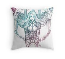 Patron Saint of Jaeger Pilots Throw Pillow