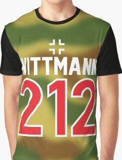Panzer Aces - Michael Wittmann Camo Graphic T-Shirt