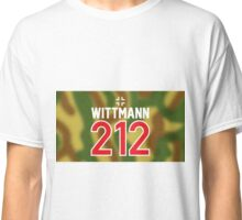 Panzer Aces - Michael Wittmann Camo Classic T-Shirt