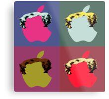 Pop Apple Metal Print