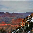 Grand Canyon Dusk by Wayne King