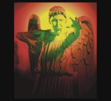 Scary Weeping Angel by Marjuned