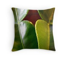 236/365 Lime Leaves! Throw Pillow