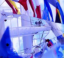 ship flags by RusticShiraz