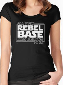 All Your Rebel Base Women's Fitted Scoop T-Shirt