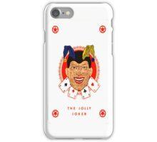 the jolly joker iPhone Case/Skin