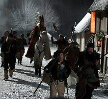 Horror Saint enters village by Esmé Lammers