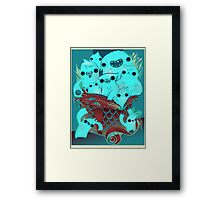 Monster Gift Framed Print