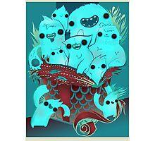 Monster Gift Photographic Print