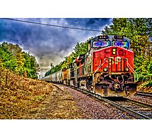 Southern Pacific 107 Photographic Print