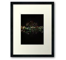 The Hobart Wharf #2 Framed Print
