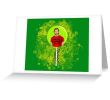 Hello Trickster Greeting Card