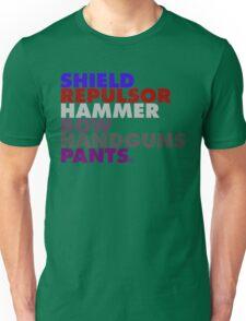 Avengers in Type Unisex T-Shirt