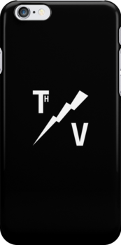 TH/V Logo White on Black by Thierry Vincent