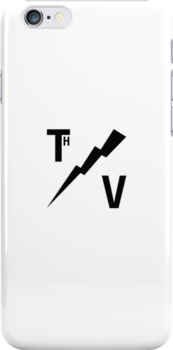 TH/V Logo Black on White by Thierry Vincent