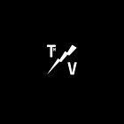 TH/V Logo White on Black / iPad by Thierry Vincent